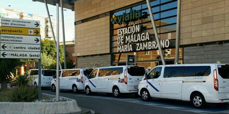 taxis-estacion-maria-zambrano