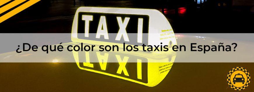 color-taxis-en-españa